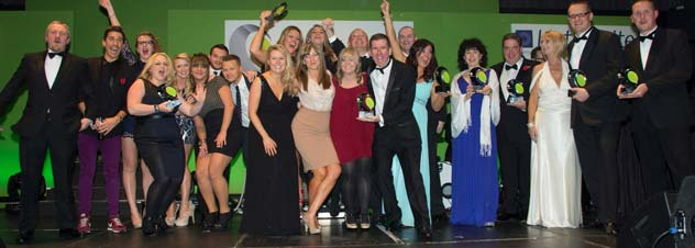 The Winners, The National Sales Awards, 7 Nov 2013