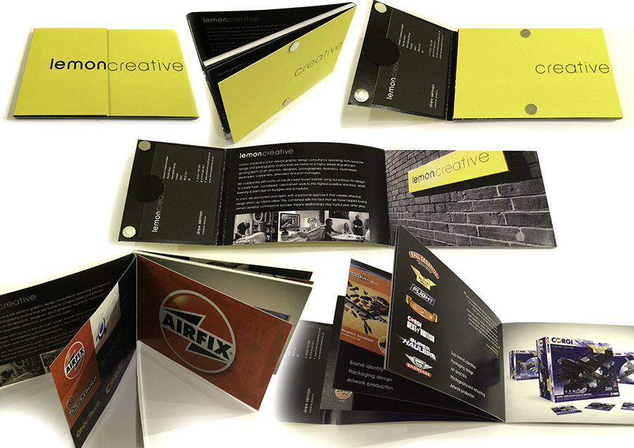 award winning brochure designs - lemon creative s award winning solution talk business