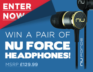 Win a pair of NU Force Headphones