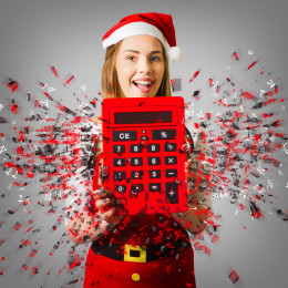 Christmassy expenses accountant