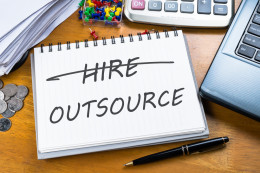 Outsourcing notepad