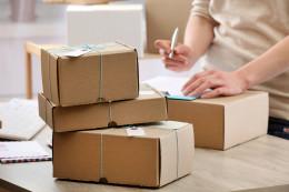 Post Office parcels